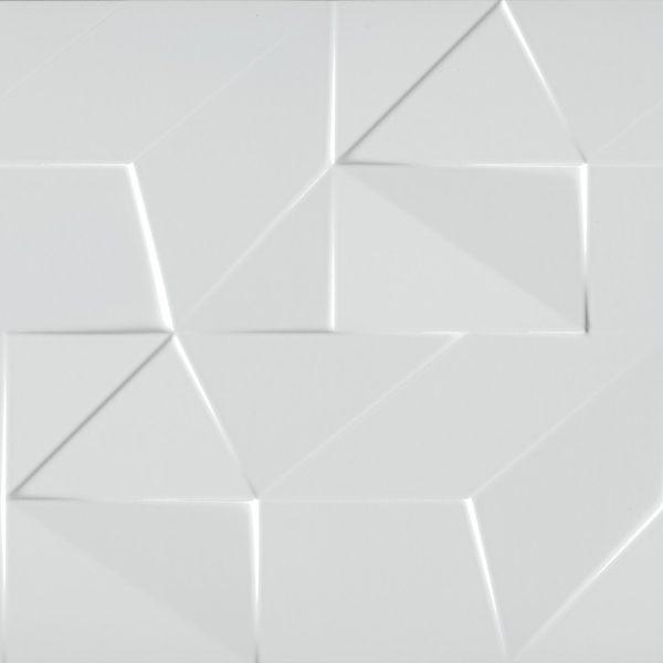 Porcelanato Monocromático Faille White Lanzi
