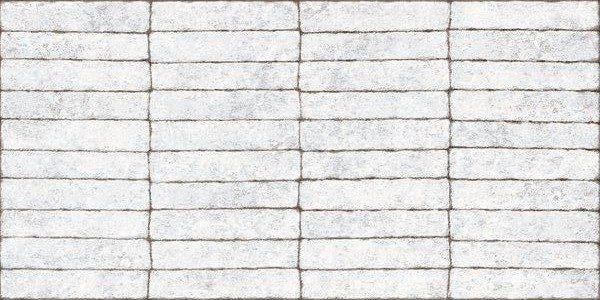 Porcelanato Imitando Tijolo Mattone Bianco Lanzi