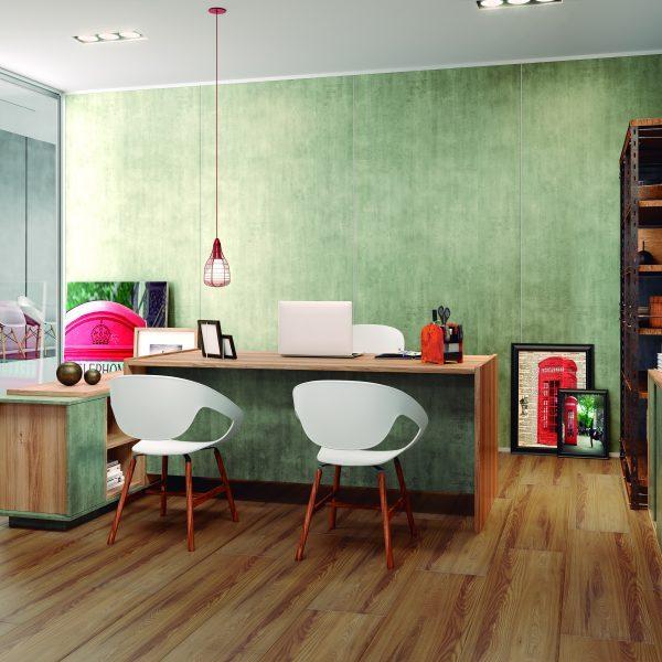 Piso Laminado Eucafloor - New Elegance Delicato Ash
