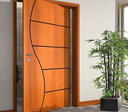 Porta Pivotante Ou De Correr Qual A Melhor Opção Portas De Madeira Entrada Sala Banheiro E Quarto