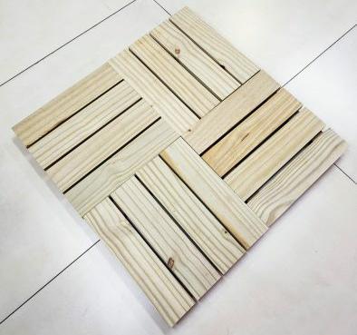 Deck modular madeira ecológica Ecopinus – Pinus imunizado
