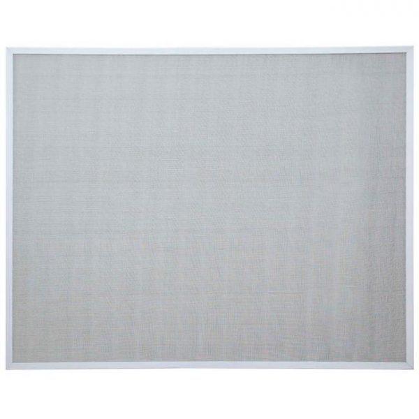 Tela Mosquiteira Inteiriça - Perfil branco/Malha cinza
