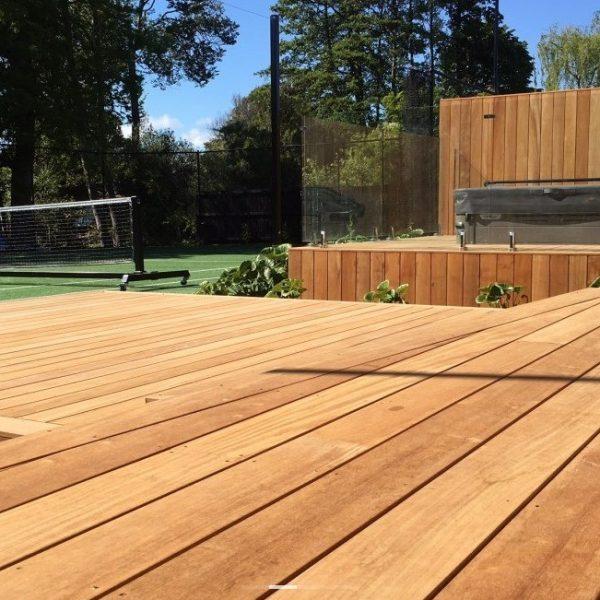 Deck de madeira garapa extra-3