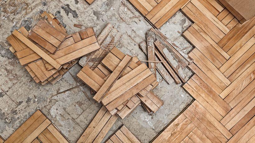 Como colocar tacos de madeira usados no piso