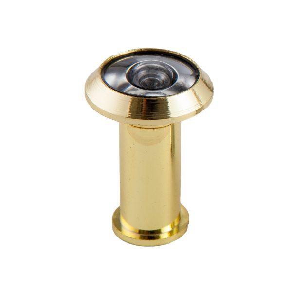 Olho mágico para porta 180° latão dourado