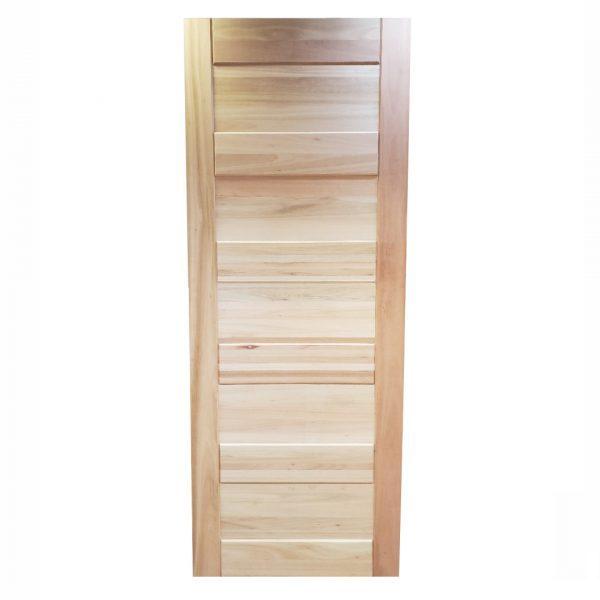 Porta de madeira maciça liptus Slim PAH