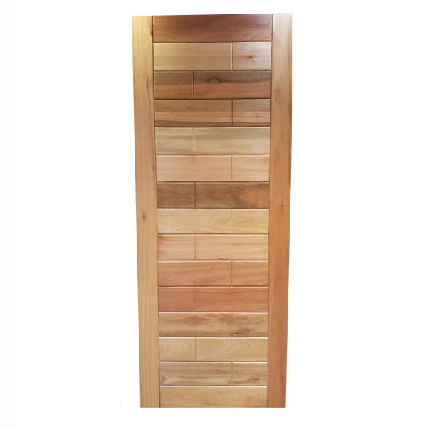 Porta de madeira maciça liptus Tijolinho Ril1