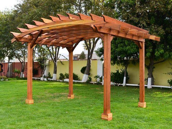 Quanto custa fazer um pergolado de madeira?