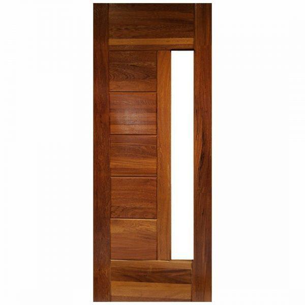 Porta de Madeira Maciça Angelim 07 Almofadas